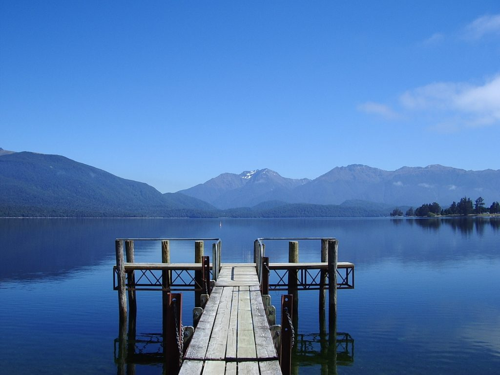 Lake Te Anau, Fiordland, New Zealand